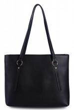 T-P4.2 BAG417-010B PU Bag Black 42x27x10cm